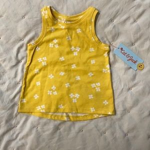Cat and Jack floral tank